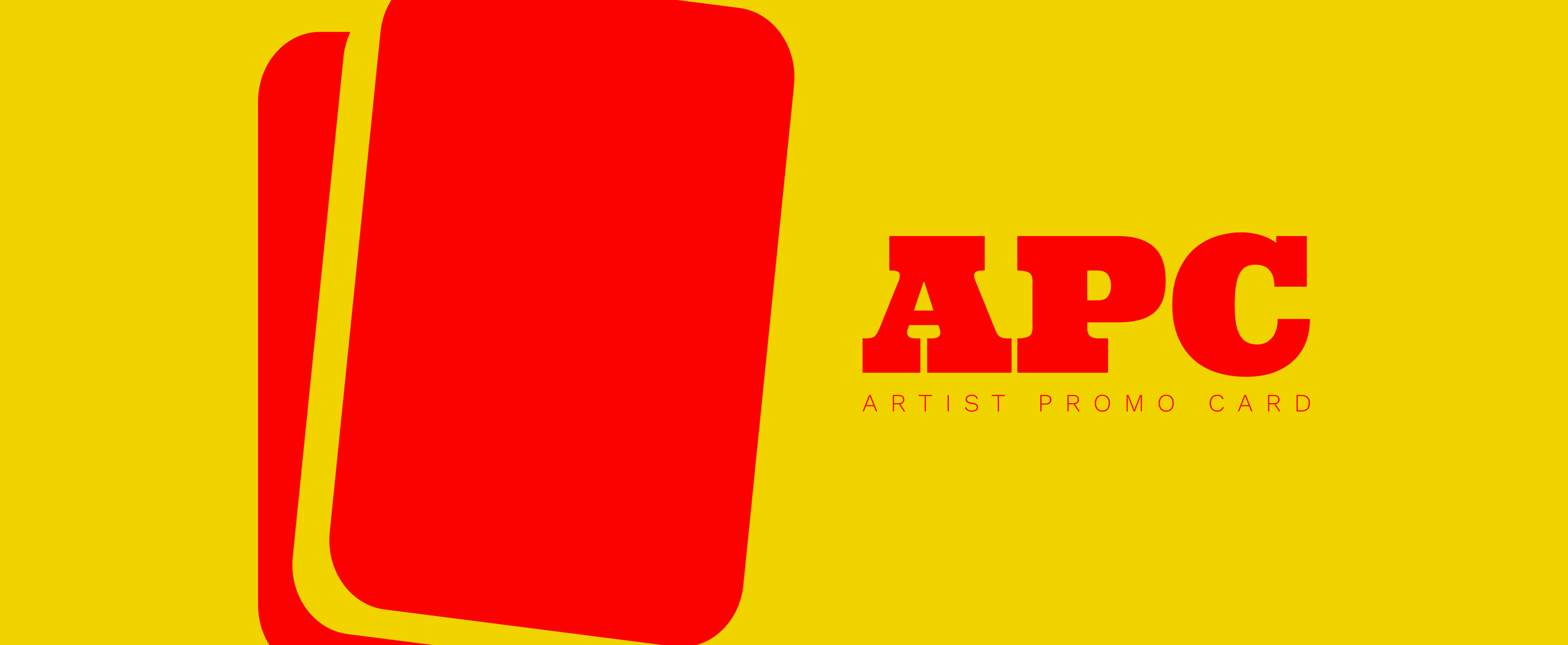 APC - Artist Promo Card